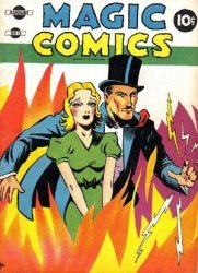 David McKay Publications's Magic Comics Issue # 13