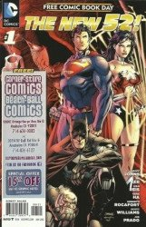 DC Comics's New 52: Free Comic Book Day Issue # 1corner store