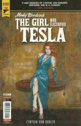 Titan Comics's Hard Case Crime: Minky Woodcock - The Girl Who Electrified Tesla Issue # 1d