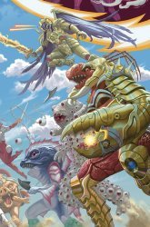 BOOM! Studios's Mighty Morphin Power Rangers Issue # 24d