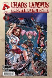 Approbation's Chaos Campus: Sorority Girls vs. Zombies Issue # 3