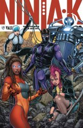 Valiant Entertainment's Ninja-K Issue # 8d