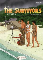 Cinebook's Survivors: Quantum Anomalies  Soft Cover # 3