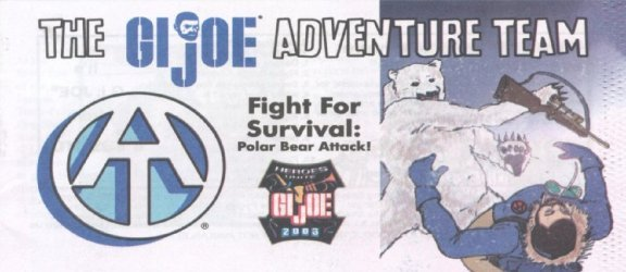 Hasbro's G.I. Joe Adventure Team Issue # 2003
