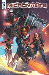 IDW Publishing's Micronauts Issue # 8sub-b