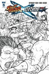 IDW Publishing's Street Fighter x G.I. Joe Issue # 5ri-b