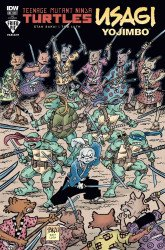 IDW Publishing's Teenage Mutant Ninja Turtles / Usagi Yojimbo Issue # 1fried pie