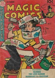 David McKay Publications's Magic Comics Issue # 111