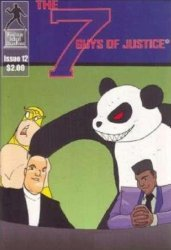 False Idol Studios's The Seven Guys of Justice Issue # 12