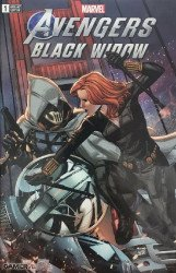 Marvel Comics's Avengers: Black Widow Issue # 1walmart