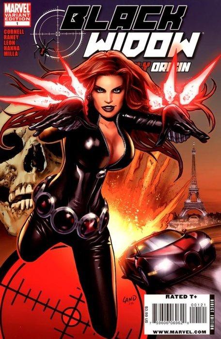 Black Widow Marvel Comics Original