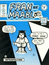 Edward Zolna Inc.'s Fran an' Maabl Issue # 1