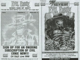 Chaos! Comics's Evil Ernie Issue Preview