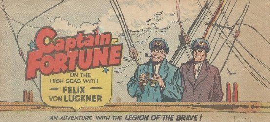 Vital Publications's Captain Fortune on the High Seas with Felix Von Luckner Issue nn