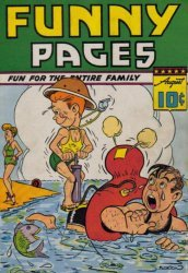 Centaur Publications's Funny Pages Issue # 6