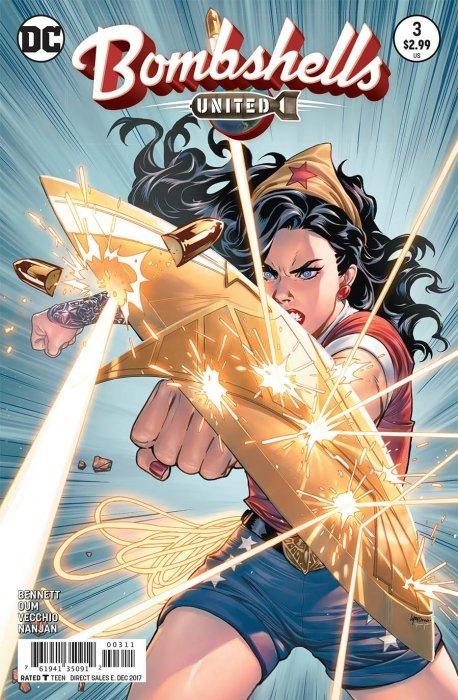 DC Comics Bombshells United #8 DC NM Comics Book
