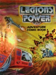 Tonka's Legions of Power: Adventure Comic Book Issue # 2