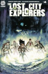 After-Shock Comics's Lost City Explorers Issue # 4