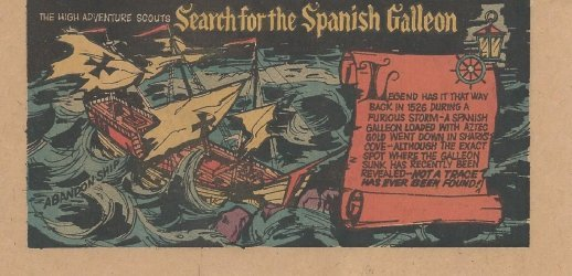 Kenner's The High Adventure Scouts Search for the Spanish Galleon Issue nn