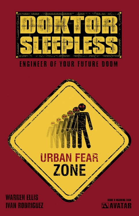 Avatar Presss Doktor Sleepless Issue 9c