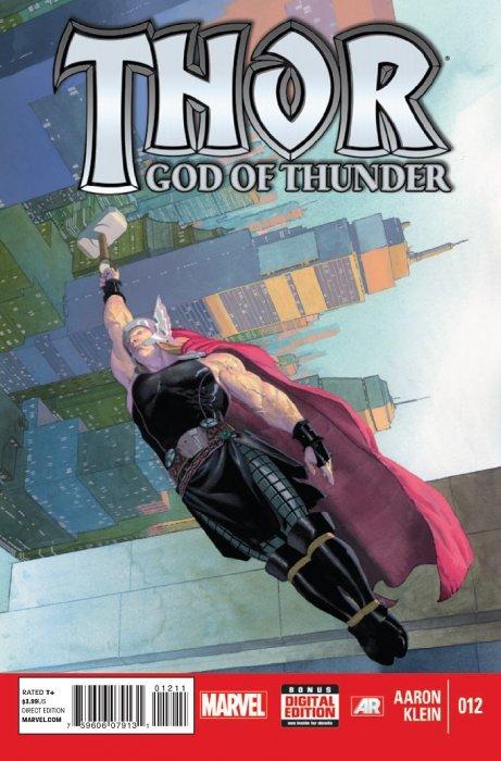 Thor: God of Thunder 1 (Marvel) - ComicBookRealm.com  Thor