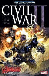 Marvel Comics's Civil War II Issue fcbd