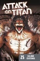 Kodansha Comics's Attack on Titan Soft Cover # 25