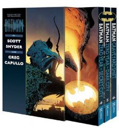 DC Comics's Batman by Scott Snyder and Greg Capullo Soft Cover Box Set 2