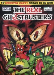 Marvel UK's The Real Ghostbusters Issue # 72