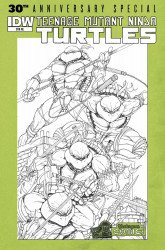 IDW Publishing's Teenage Mutant Ninja Turtles: 30th Anniversary Special Issue # 1yesteryear-b