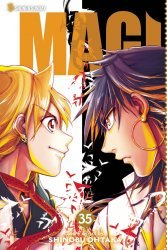 Viz Media's Magi: Labyrinth of Magic Soft Cover # 35