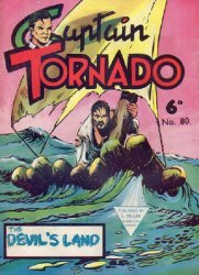 L. Miller & Son's Captain Tornado Issue # 80