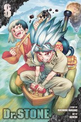 Viz Media's Dr. Stone Soft Cover # 8