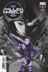 Marvel Comics's Fallen Angels Issue # 5 - 2nd print