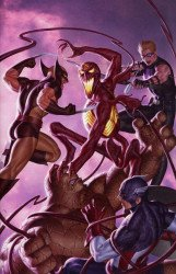 Marvel Comics's Absolute Carnage: Avengers Issue # 1d