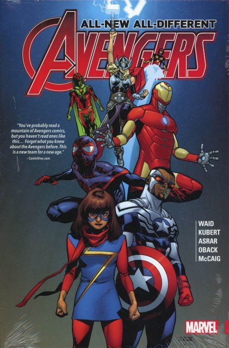 All New Different Avengers Hard Cover 1 Marvel Comics