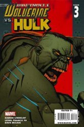 Ultimate Marvel's Ultimate Wolverine vs Hulk Issue # 3