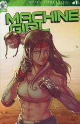 Red 5 Comics's Machine Girl Issue # 1b