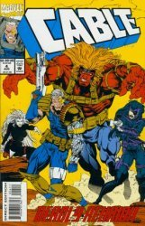 Marvel Comics's Cable Issue # 4