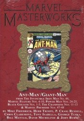 Marvel Comics's Marvel Masterworks: Ant-Man / Giant-Man Hard Cover # 3b