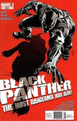 Marvel Comics's Black Panther: Most Dangerous Man Alive Issue # 523.1b