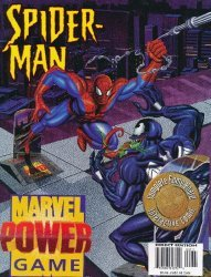 Marvel Comics's Marvel Power Game Issue spider-man