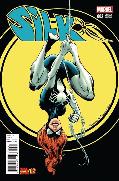 Silk #7 Marvel Comics CB9237