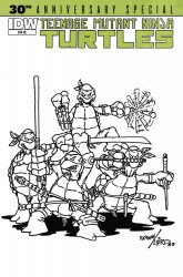 IDW Publishing's Teenage Mutant Ninja Turtles: 30th Anniversary Special Issue # 1hot comics-a