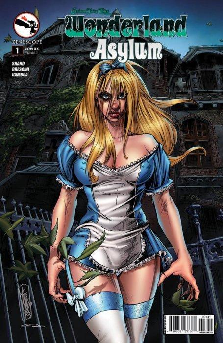 Grimm Fairy Tales Presents Asylum #2 Zenescope Wonderland 2B