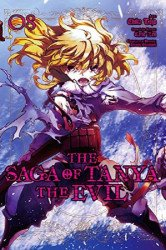 Yen Press's Saga Of Tanya The Evil Soft Cover # 8