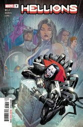 Marvel Comics's Hellions Issue # 7