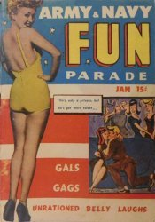 Harvey Publications's Army and Navy Fun Parade Issue V3-1