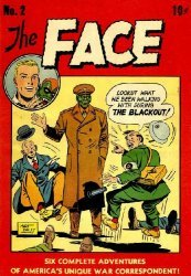 Columbia Comics Group's The Face Issue # 2