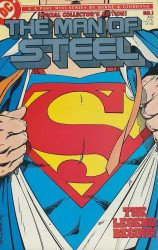 DC Comics's The Man of Steel Issue # 1b